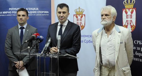 Zoran Đorđević, Mile Radivojević, Zoran Stojiljković