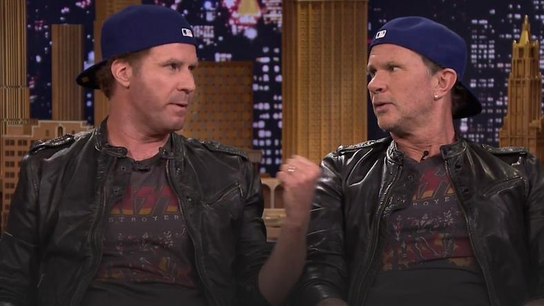 Will Ferrell i Chad Smith u Jimmiego Fallona