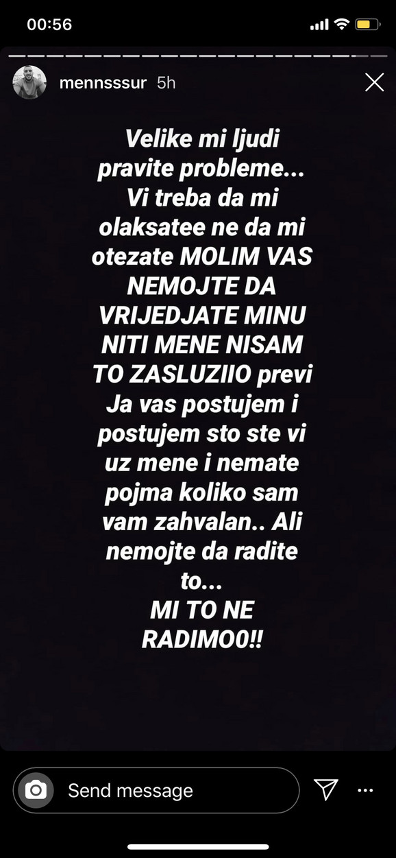 Mensur Ajdarpašić - objava