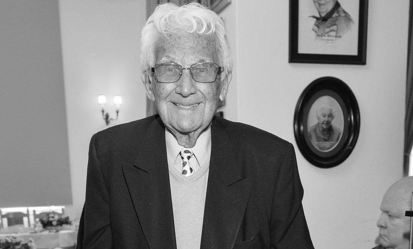 Nie żyje Witold Sadowy. Miał 100 lat
