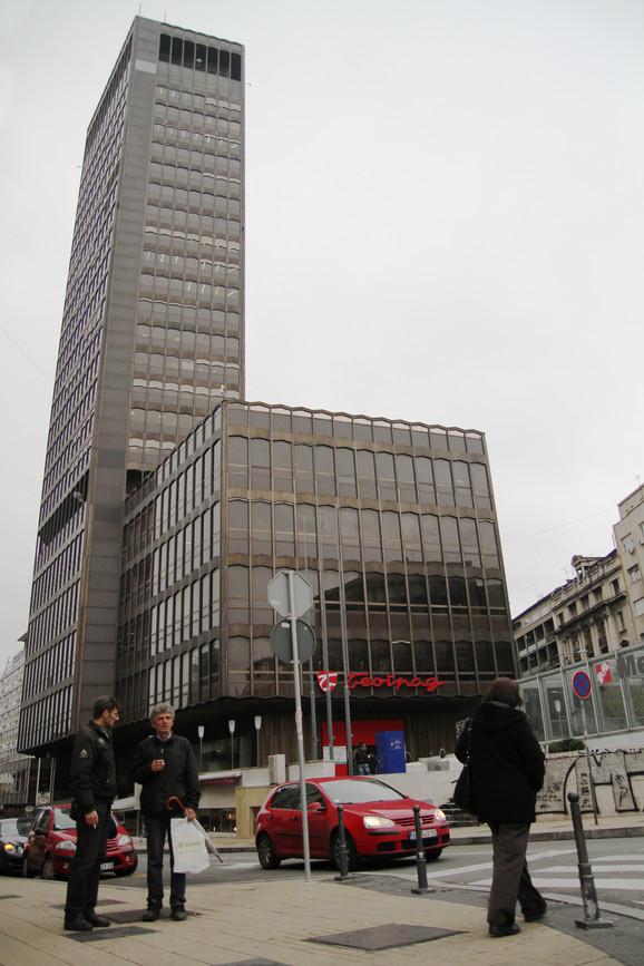 Jedna od najviših zgrada u prestonici