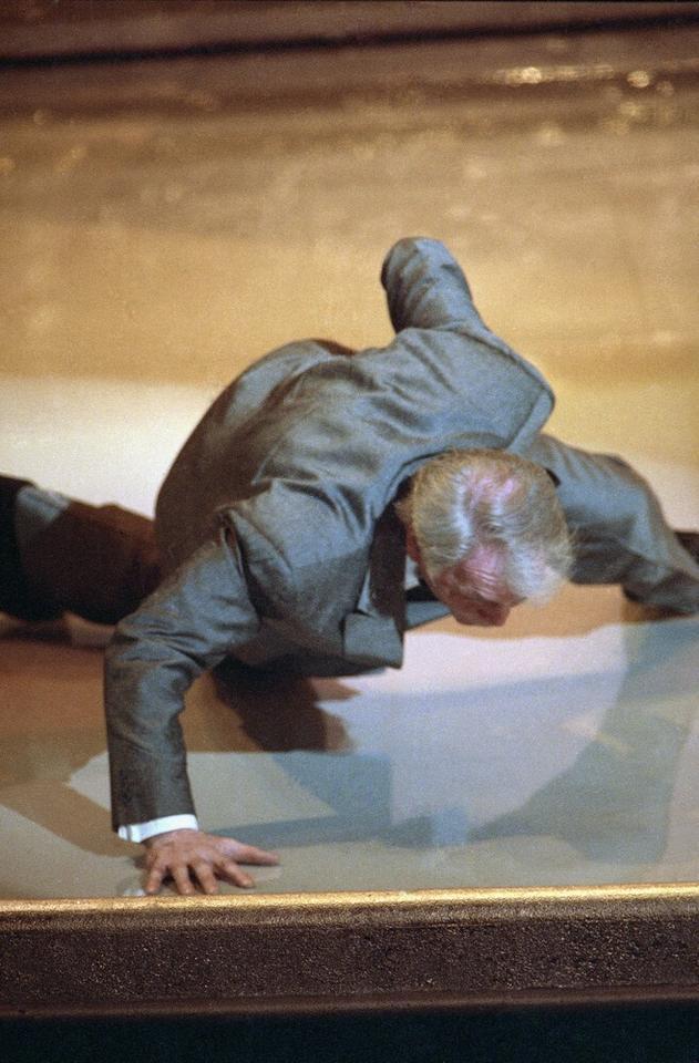 """Jack Palance - ceremonia w 1992 roku, Oscar za drugoplanową rolę w """"Sułtanach westernu"""""""