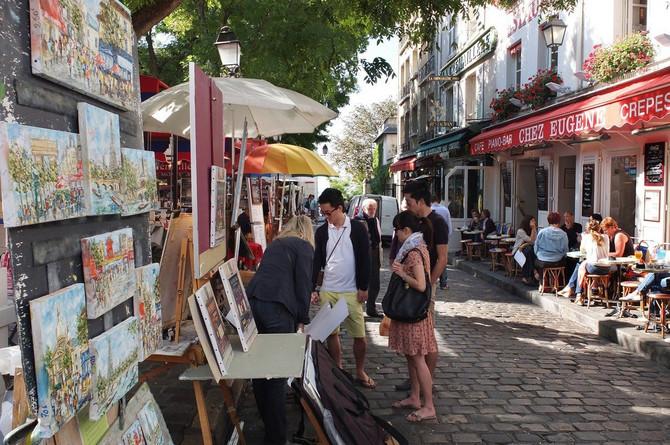 """""""Place du Tertre"""", umetničko srce Monmartra"""