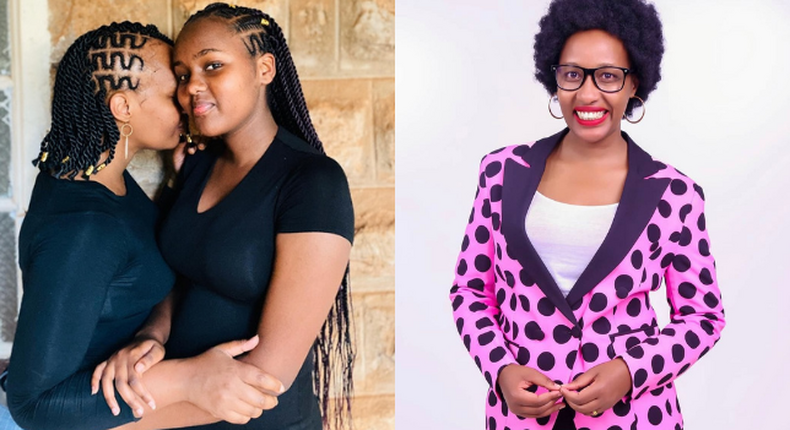 Teacher Wanjiku gushes over her daughter as she turns 18 years' old