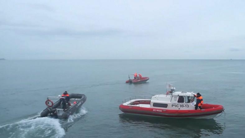 Ekipy poszukiwawcze na Morzu Czarnym