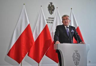 Karczewski: Borusewicz poprowadzi posiedzenie Senatu przed świętami