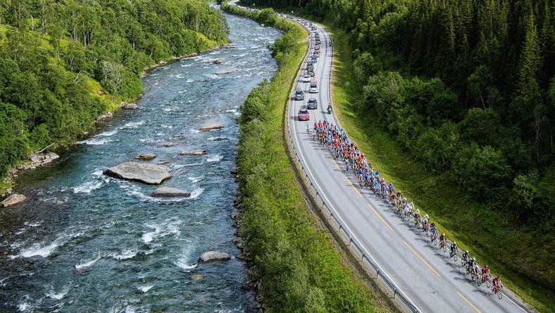 Arctic Race -od Norway: August Jensen wygrał trzeci etap, Dylan Teuns wciąż liderem