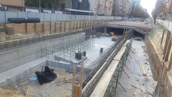 Gradnja bugarskog metroa