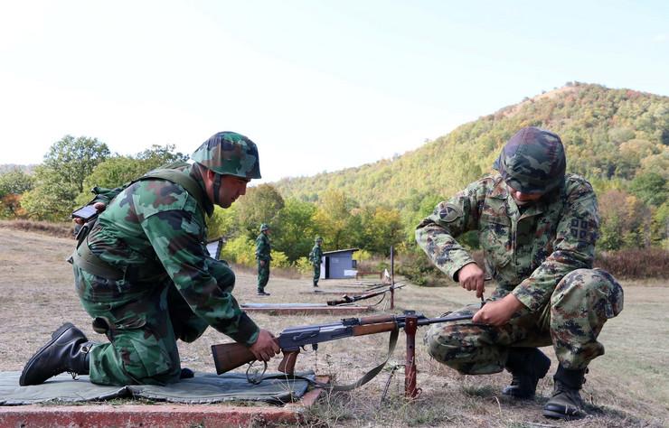 Rezervisti, obuka, Vojska
