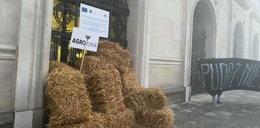 Tak rolnicy przywitali nowego ministra