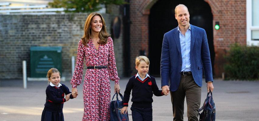 """Kate i William wyślą Jerzyka do szkoły z internatem? """"Charlotte będzie tęsknić za swoim starszym bratem"""""""
