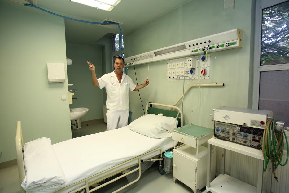 A Szent László kórház és Szlávik János főorvos készen áll a betegek ellátására /Fotó: RAS ARCHIV