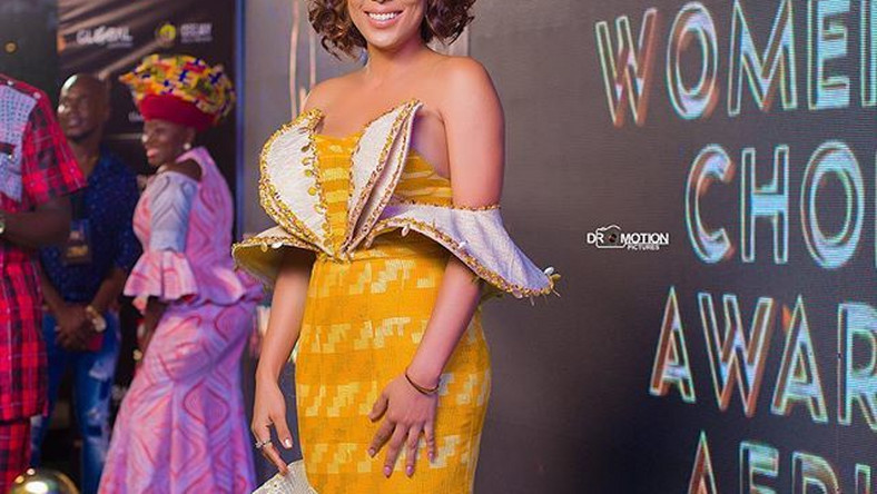 Ghanaian actress, Nikki Samonas steals attention on the red carpet.