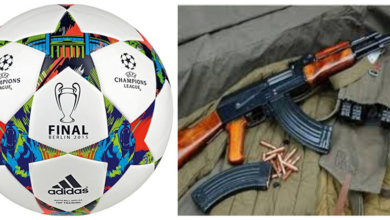 "Thieves steal 3 police weapons as ""all the officers left the station to watch UEFA football match"""
