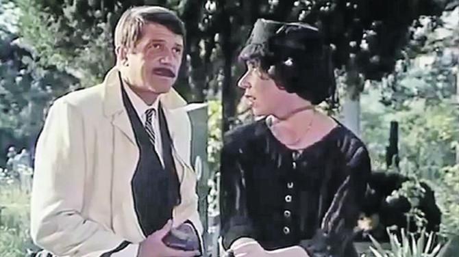 Jelisaveta Seka Sabljić i Bora Todorović u filmu
