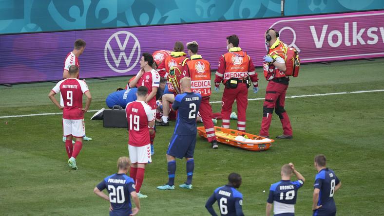 Christian Eriksen reanimowany na boisku