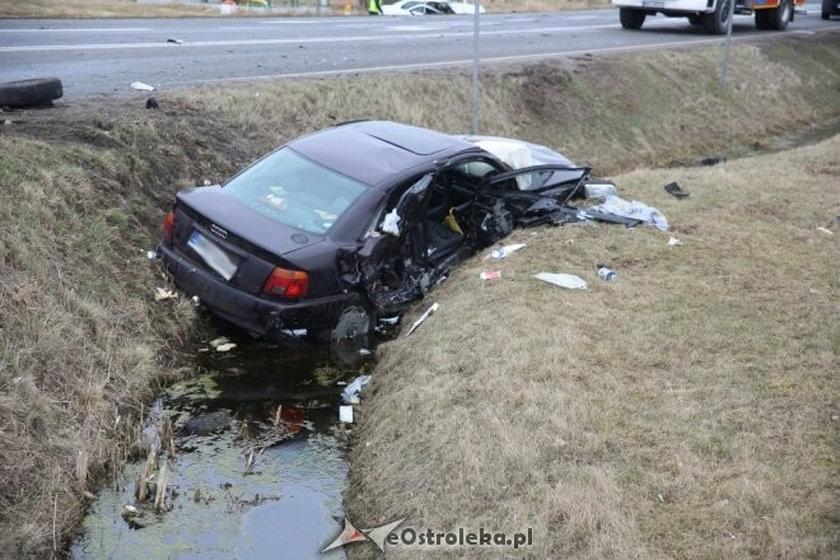 Straszny wypadek. Pięć osób rannych, dziecko w ciężkim stanie