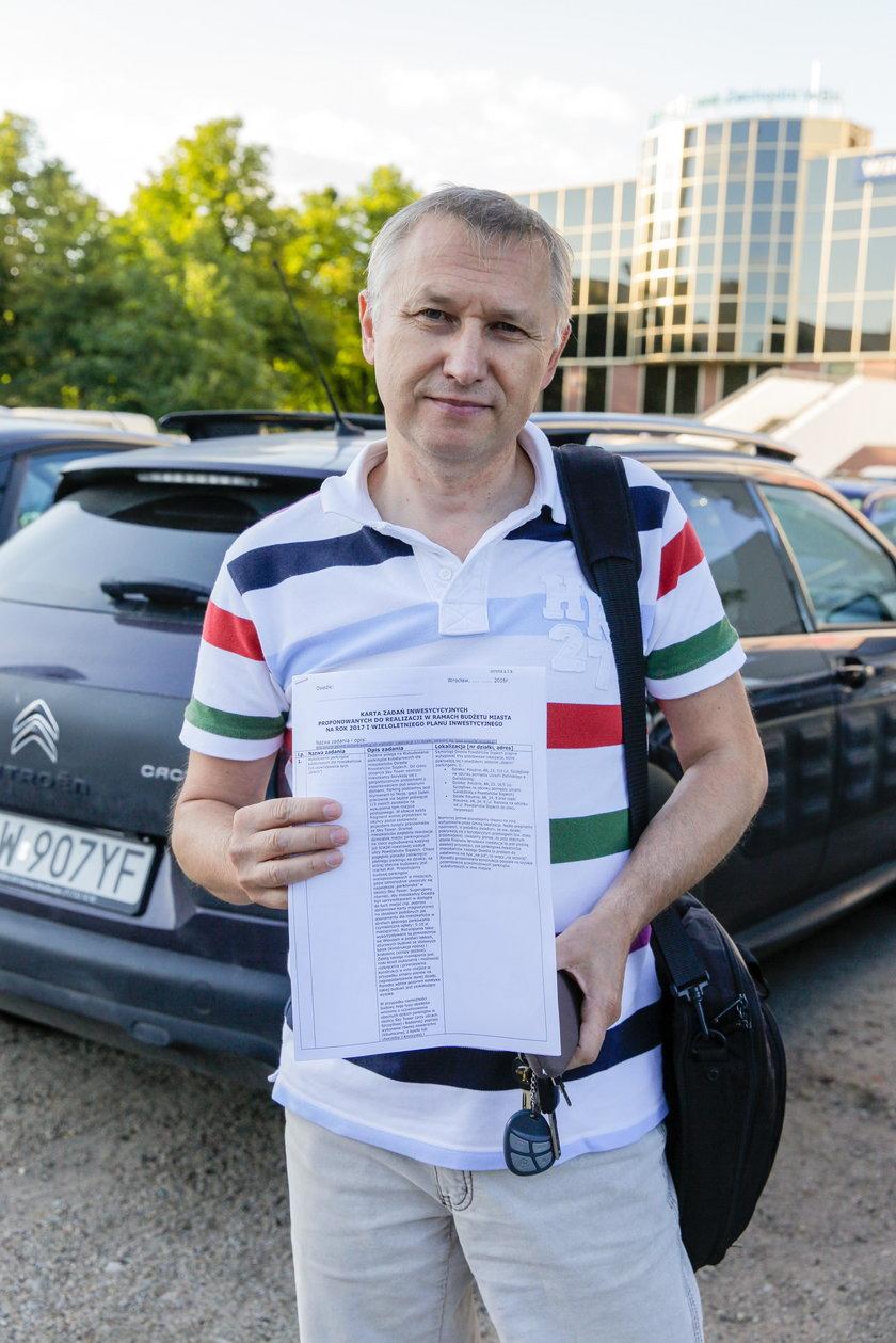 Andrzej Słota (55 l.) mieszkaniec