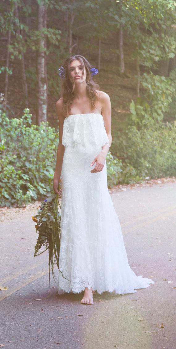 Suknie ślubne W Stylu Boho Subtelne I Przepiękne