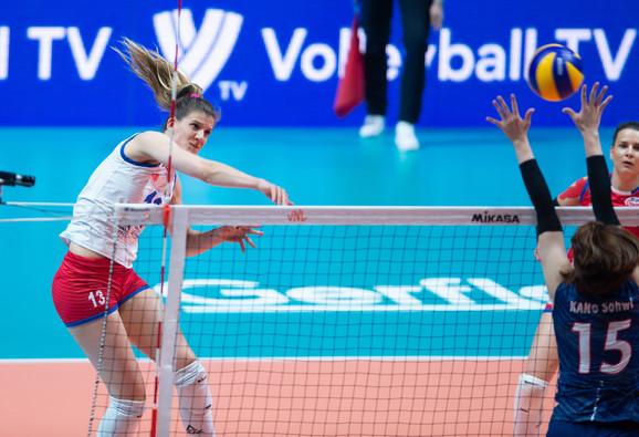 Ana Bjelica je bila najefikasnija u srpskom timu