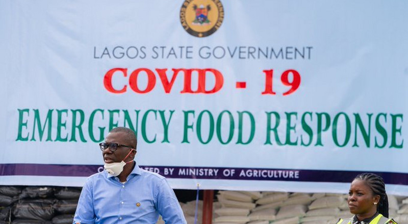 Sanwo-Olu: 'We'll be bringing food to you, Lagosians, just stay at home'