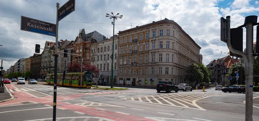 Zmienią lokalizacje przystanków w centrum Poznania