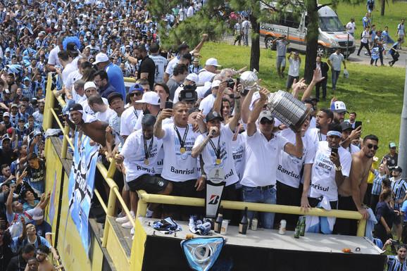 Fudbaleri Gremija, poslednji osvajači Kopa Libertadores