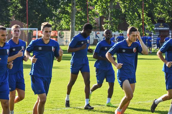 Pripreme FK Vojvodina
