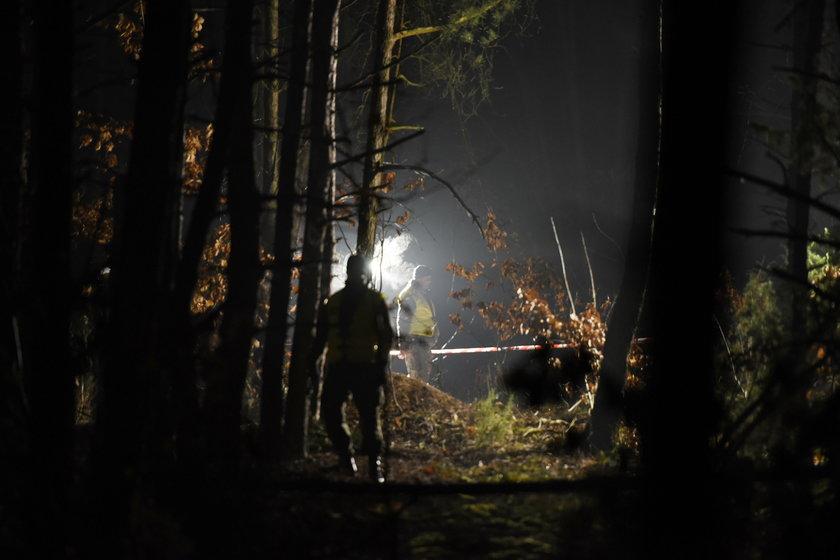 Katastrofa wojskowego samolotu na Mazowszu. Wstrząsające relacje świadków