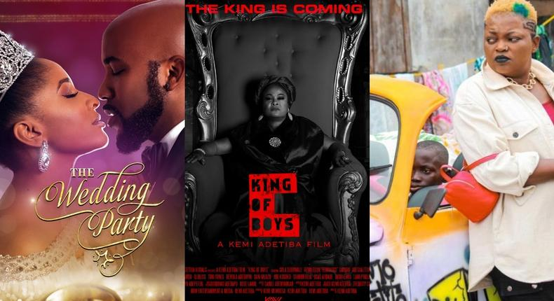 'The Wedding Party', 'King of Boys' and 'Omo Ghetto (The Saga) among highest grossing films of the decade [Microsoft, IMDb, PM News]
