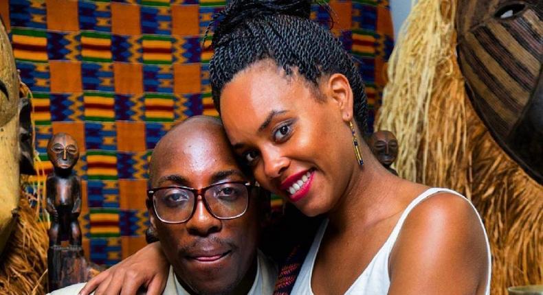 Bien Baraza and his girlfriend Chiki Kuruka