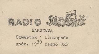 """Do walki z Radiem """"Solidarność"""" władze PRL skierowały jednostki MSW oraz wojsko"""