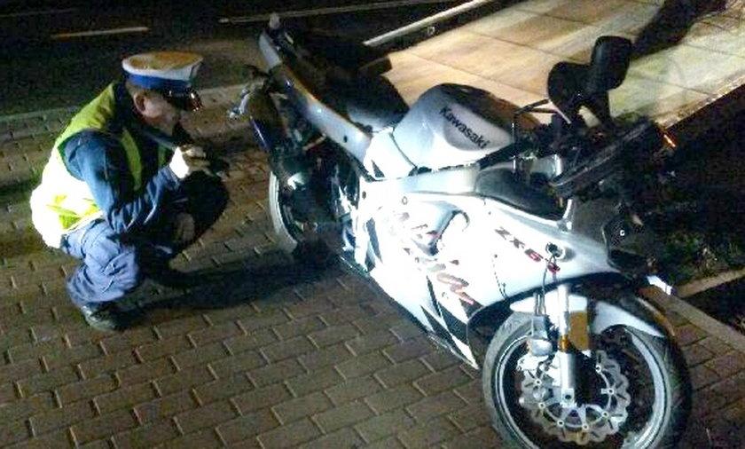Motocyklista zabił nastolatkę