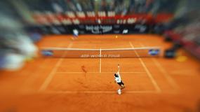 Zaskakujący i zabawny pojedynek tenisowy podczas Indian Wells