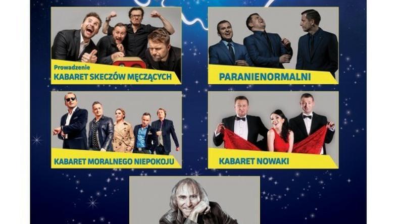 Polska Noc Kabaretowa 2017. Kto wystąpi w tym roku?