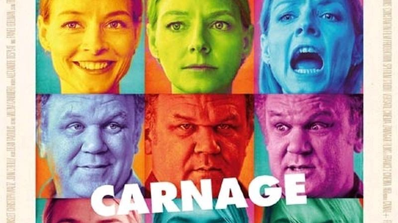 "Plakat filmu ""Carnage"" (reż. Roman Polański)"
