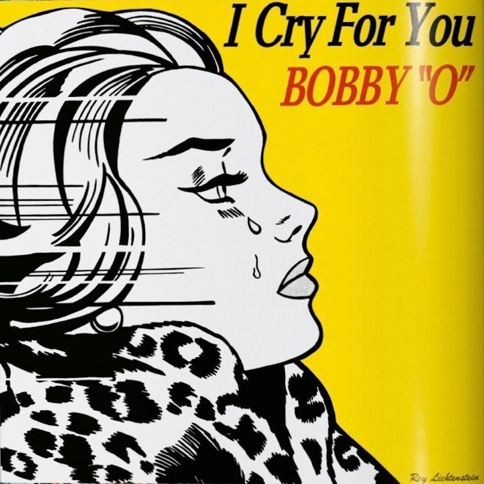 "Roy Lichtenstein dla Bobby ""O"". Album "" I Cry for You"""