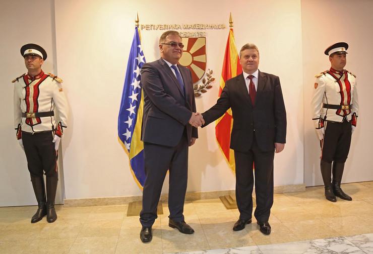 Mladen Ivanic Djordje Ivanov Skoplje