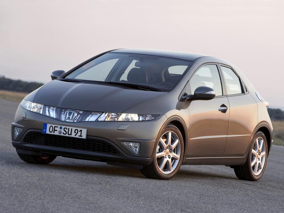 10. Honda Civic VIII (2006-)