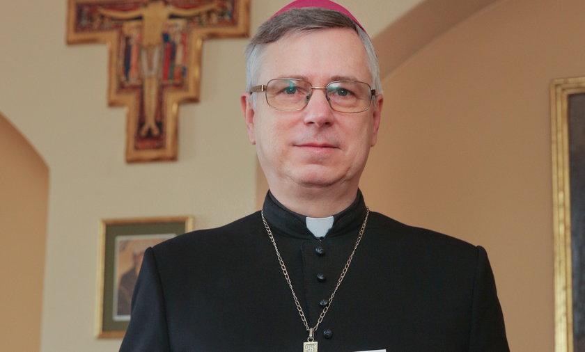 Życzenia od biskupa Andrzeja Siemieniewskiego