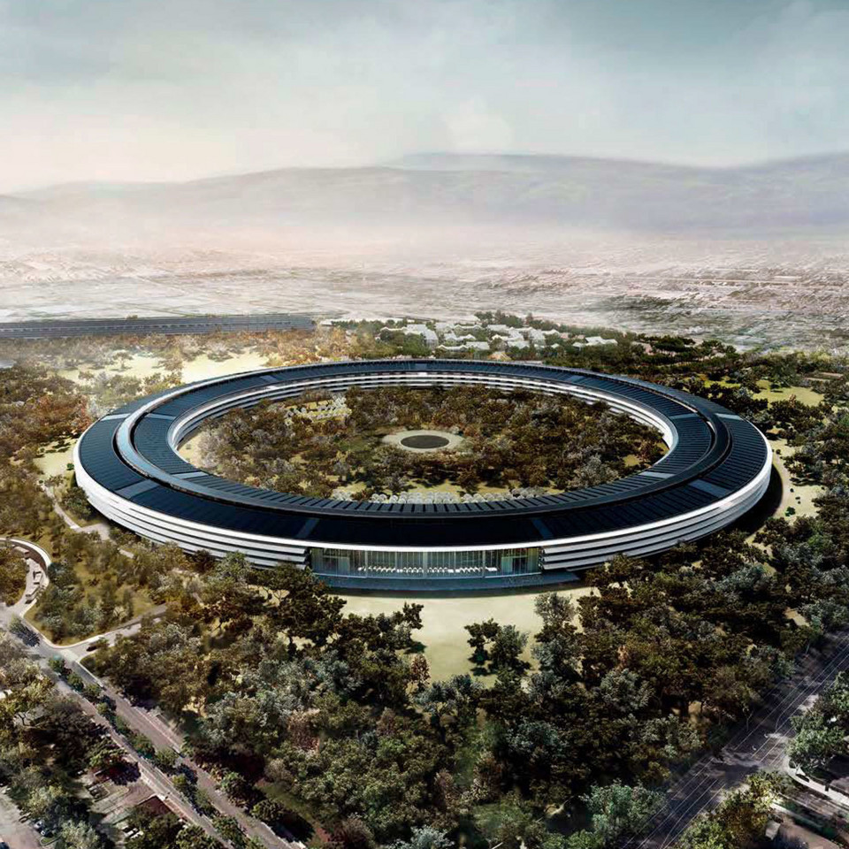 Apple Campus 2, Stany Zjednoczone, Pracownia Foster + Partners