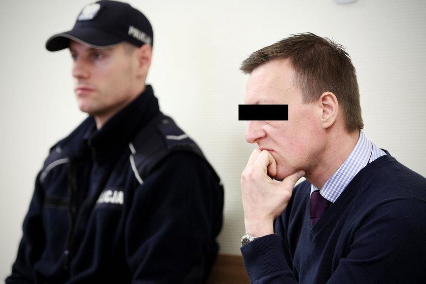 Oskarżony Marek G.