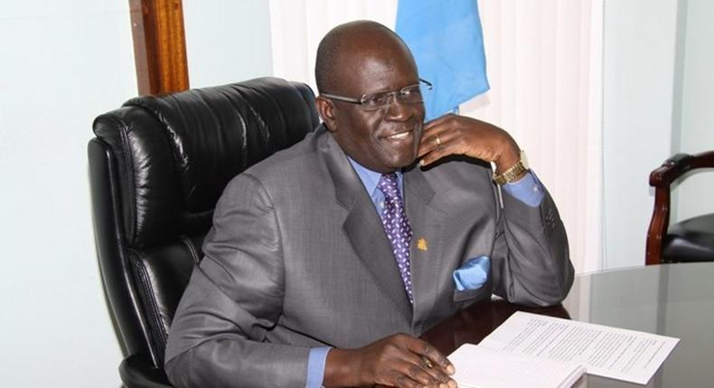 Prof. George Magoha during a past interview