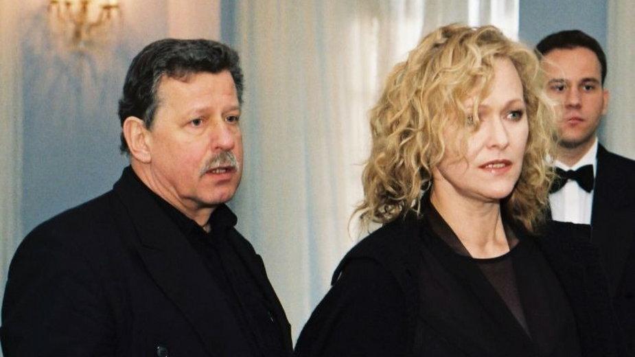 Edyta Geppert i Piotr Loretz