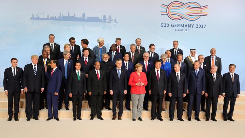 Polityczna elita świata na jednym zdjęciu.