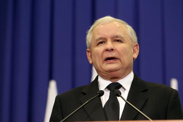 Jarosław Kaczyński. Fot. Aleksander Majdański/Newspix.pl