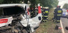 Tragiczny wypadek kuriera Poczty Polskiej. Wiózł wartościową przesyłkę