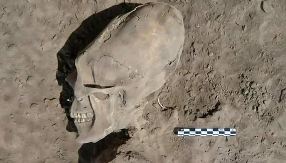 Pronađena lobanja koja podseća na vanzemaljca iz serijala