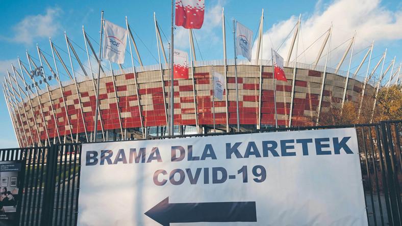 Szczepienia sportowców odbywają się na Stadionie Narodowym