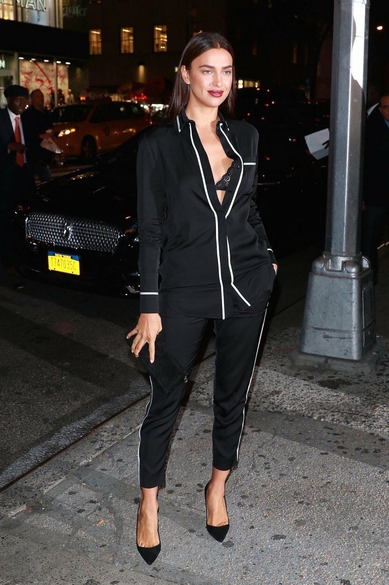 Irina prošle godine u Njujorku